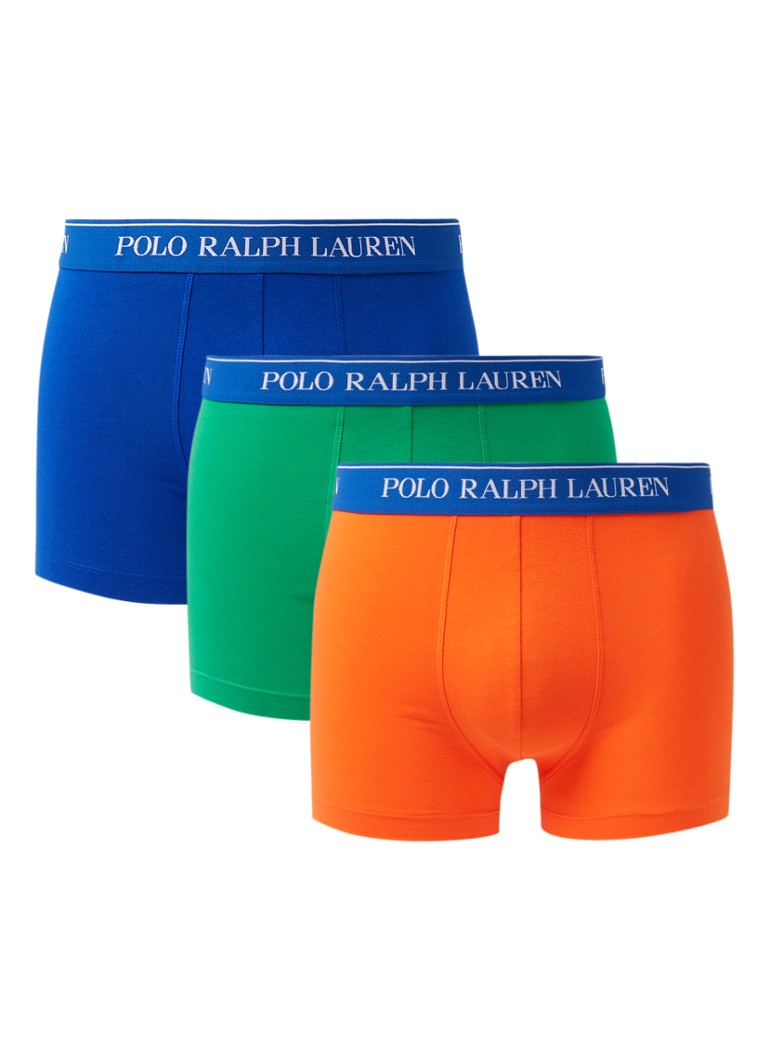 Ralph Lauren Boxershorts in uni in 3-pack