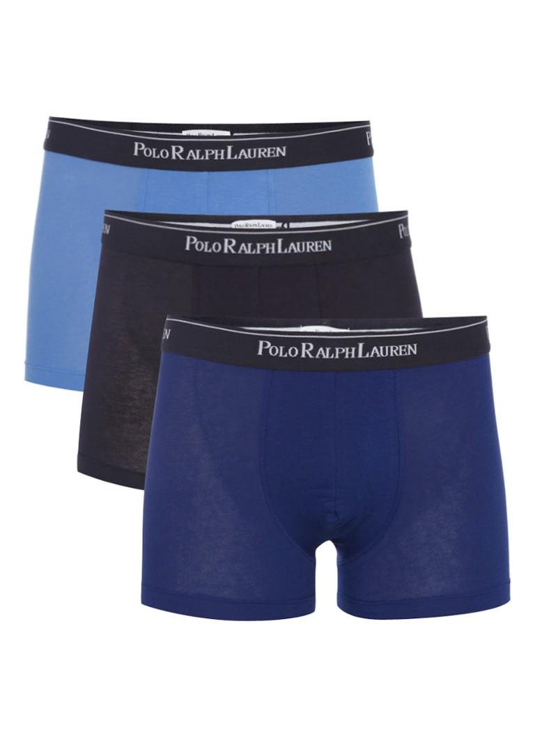 Polo Ralph Lauren Underwear 3PACK Hipster Blauw