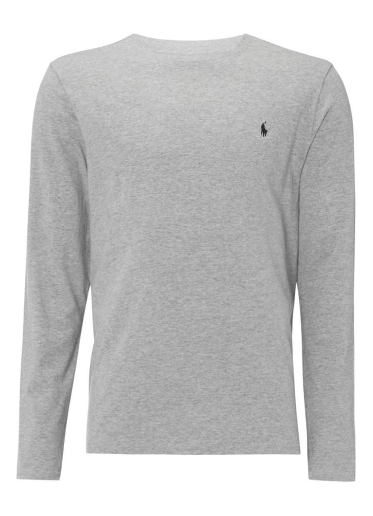 Polo Ralph Lauren Grijze longsleeve met logo