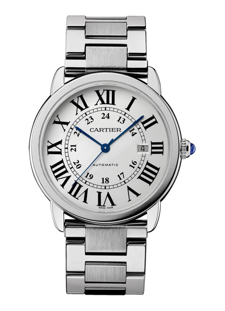 Cartier Ronde Solo de Cartier 42 mm horloge van staal W6701011