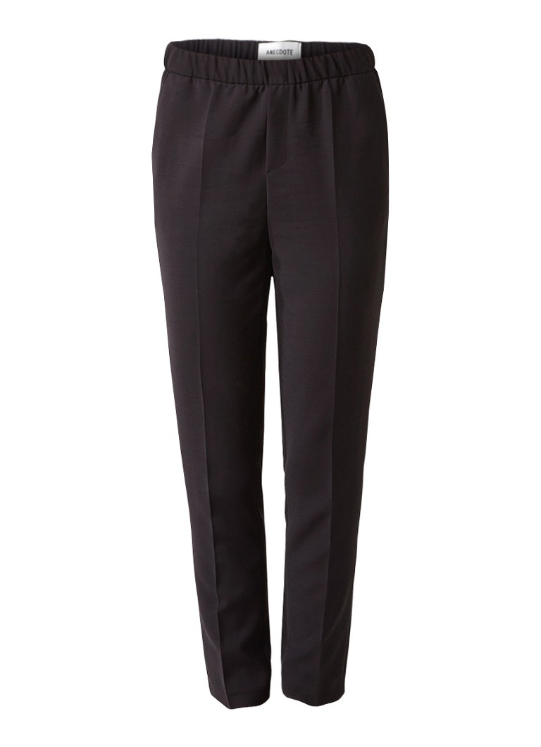 Anecdote Pantalon met elastische tailleband