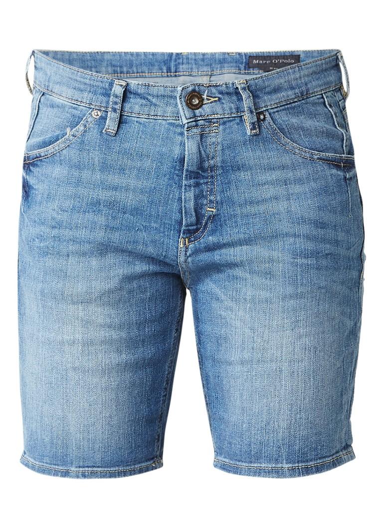 Marc O'Polo High rise regular fit denim shorts