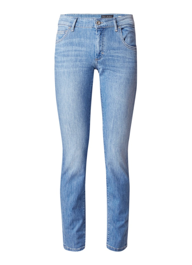 Marc O'Polo Alby low rise slim fit jeans met stretch