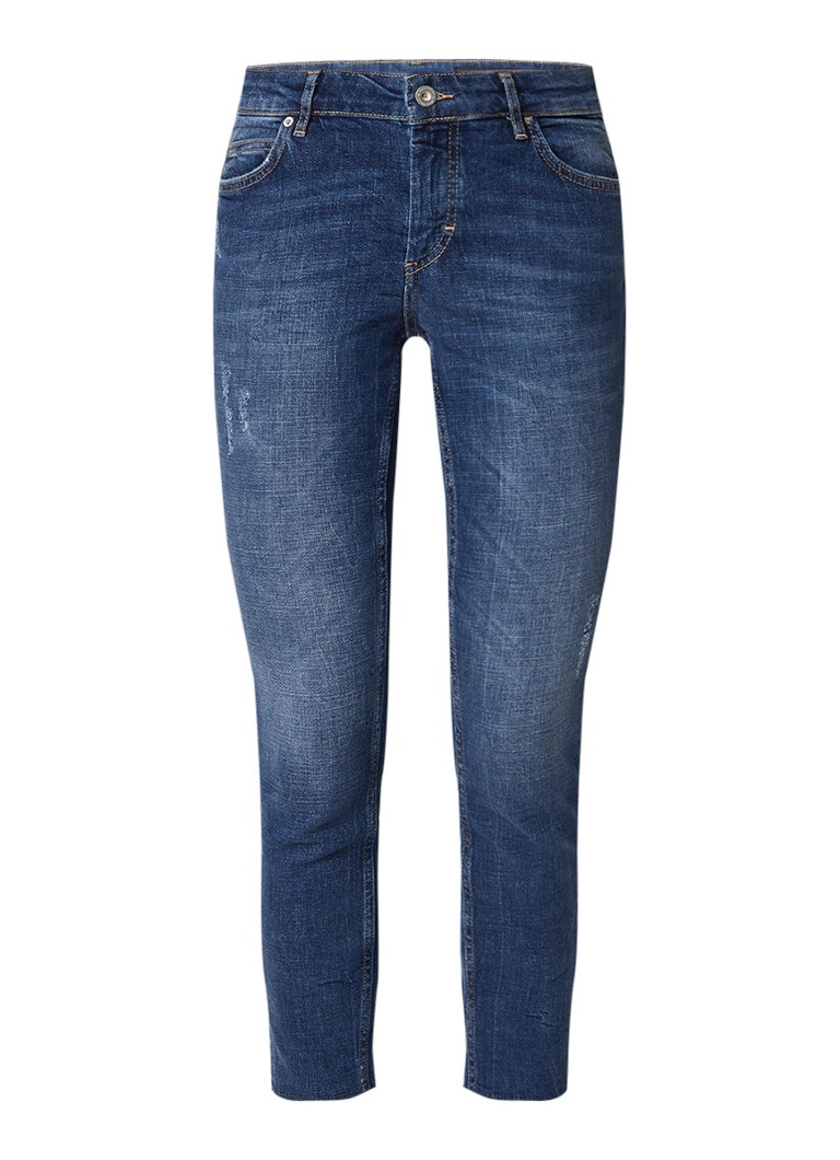 Marc O'Polo Alby regular rise slim fit cropped jeans