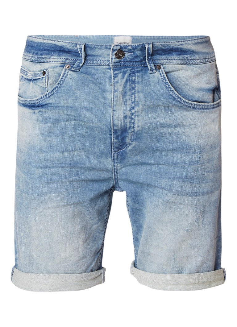 Chasin Iggy s Brea jeans shorts met lichte wassing