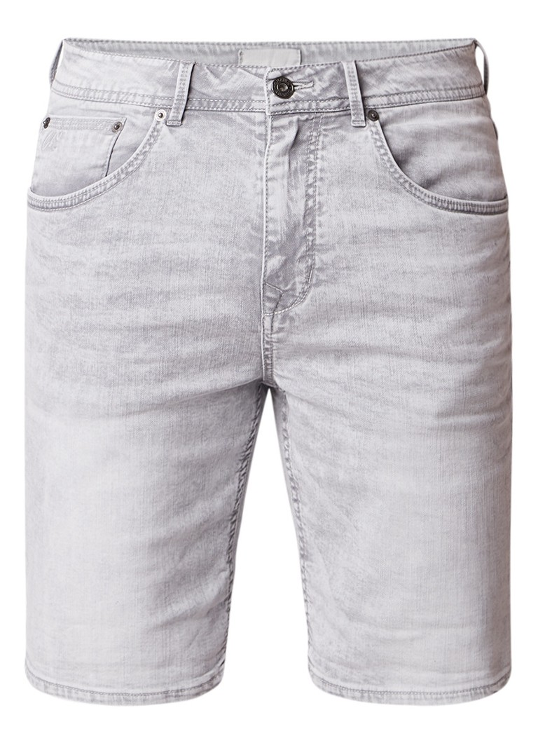 Chasin Iggy S regular fit denim shorts met washed look