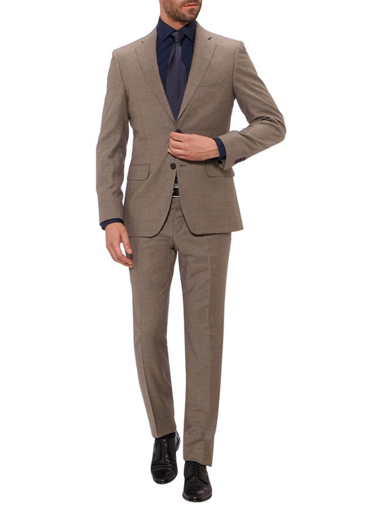 Van Gils Van Gils Roger tailored fit kostuum van kasjmier
