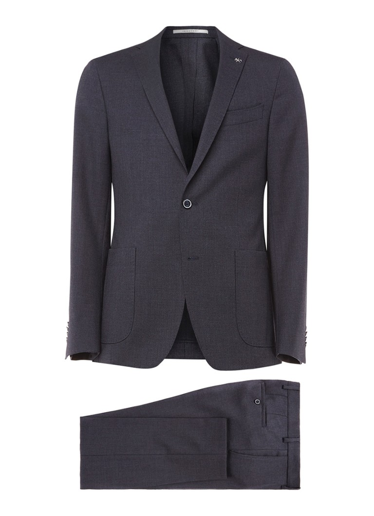 Van Gils Travel Suit tailored fit pak met slaapmasker