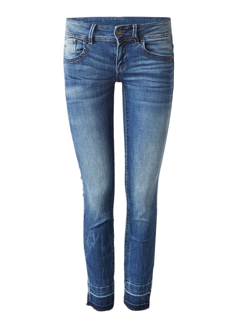 G-Star RAW Lynn mid rise 7 8 skinny jeans met destroyed details