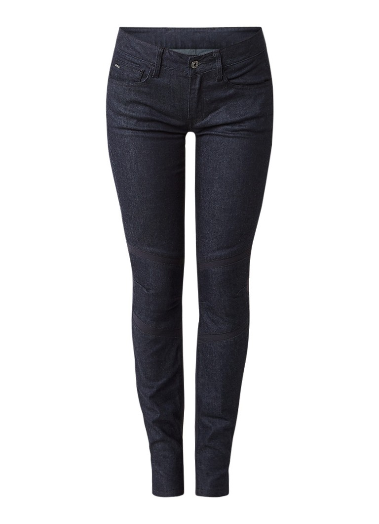 Jeans G Star RAW Motac Deconstructed 3D mid rise skinny jeans Indigo