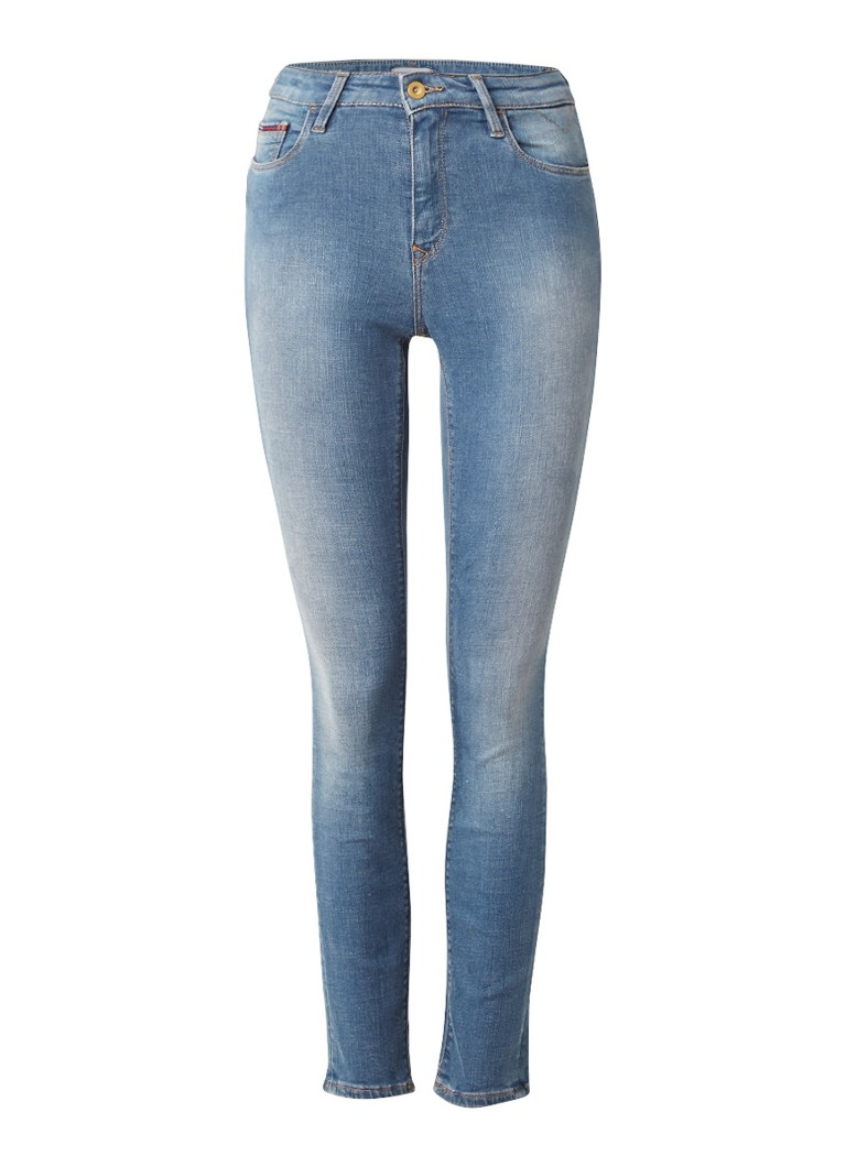 Tommy Hilfiger High rise skinny jeans met dynamic stretch