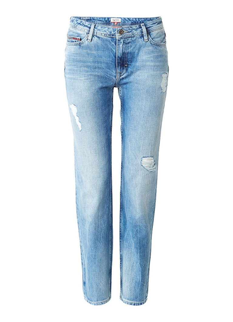 Tommy Hilfiger Suky high rise straight fit enkel jeans
