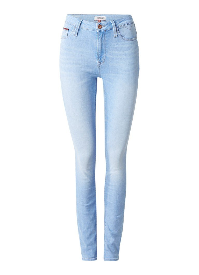 Tommy Hilfiger Santana high rise skinny jeans met lichte wassing
