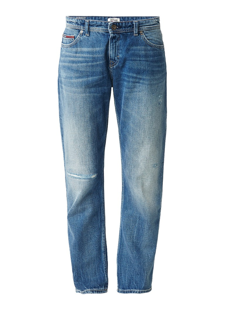 Tommy Hilfiger Lana high rise straight fit cropped jeans