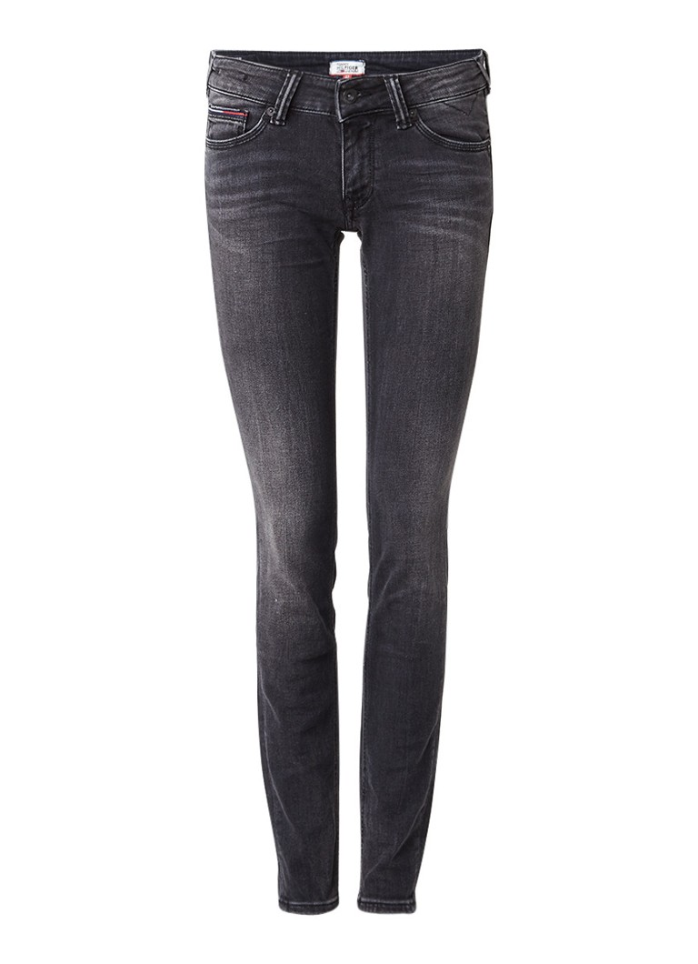 Tommy Hilfiger Sophie low rise skinny jeans met donkere wassing