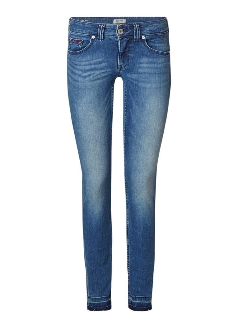 Tommy Hilfiger Sophie low rise skinny jeans met faded look