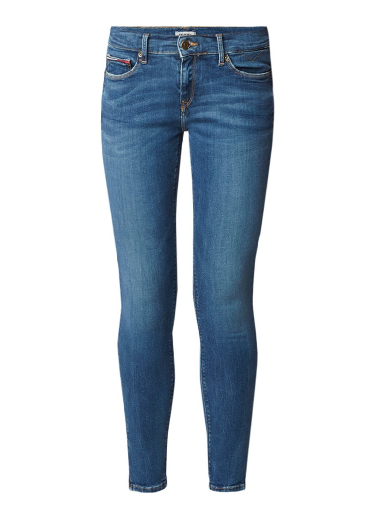 Tommy Hilfiger Nora mide rise skinny jeans met medium wassing