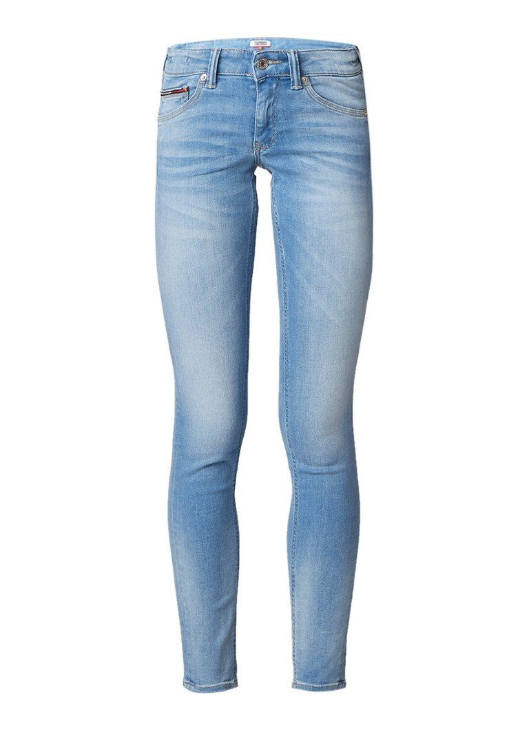 Tommy Hilfiger Sophie low rise skinny fit jeans met lichte wassing