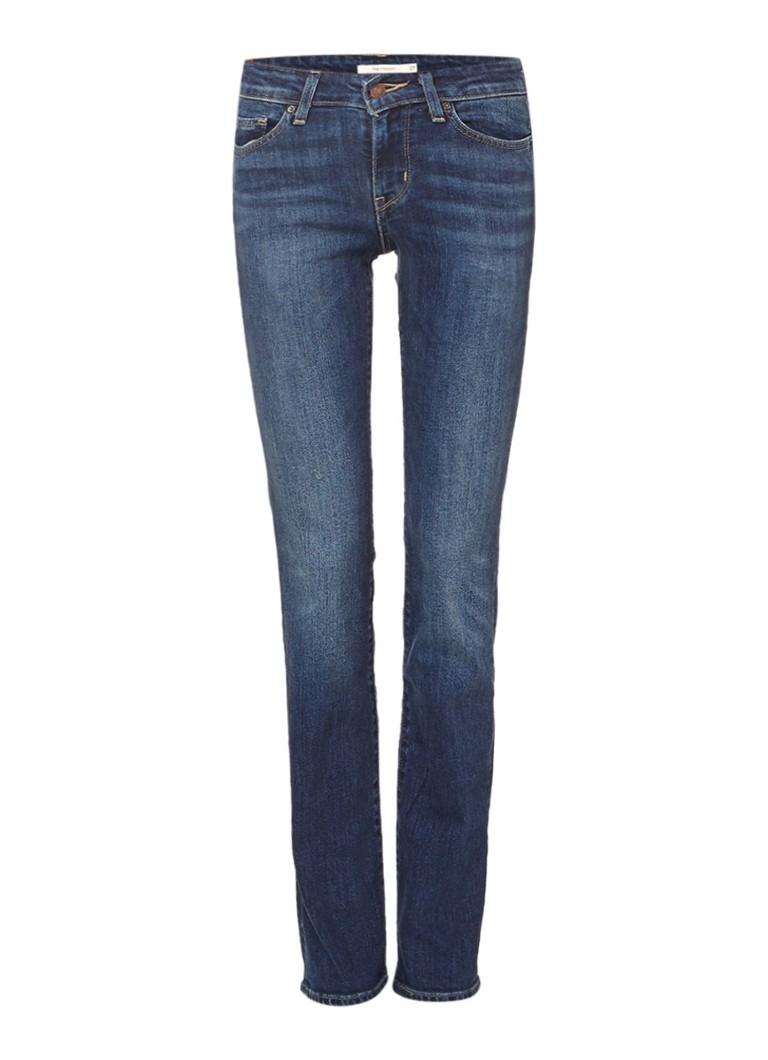 Levi's 714 low rise straight fit jeans