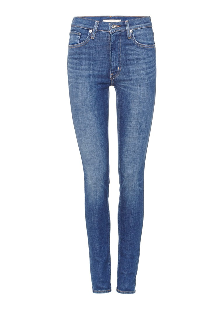 Levi's Mile high super skinny jeans met stretch