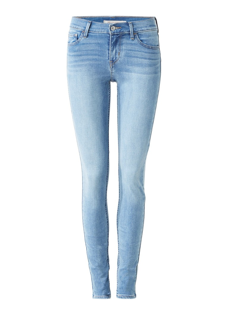 Levi's 710 Innovation mid rise super skinny jeans