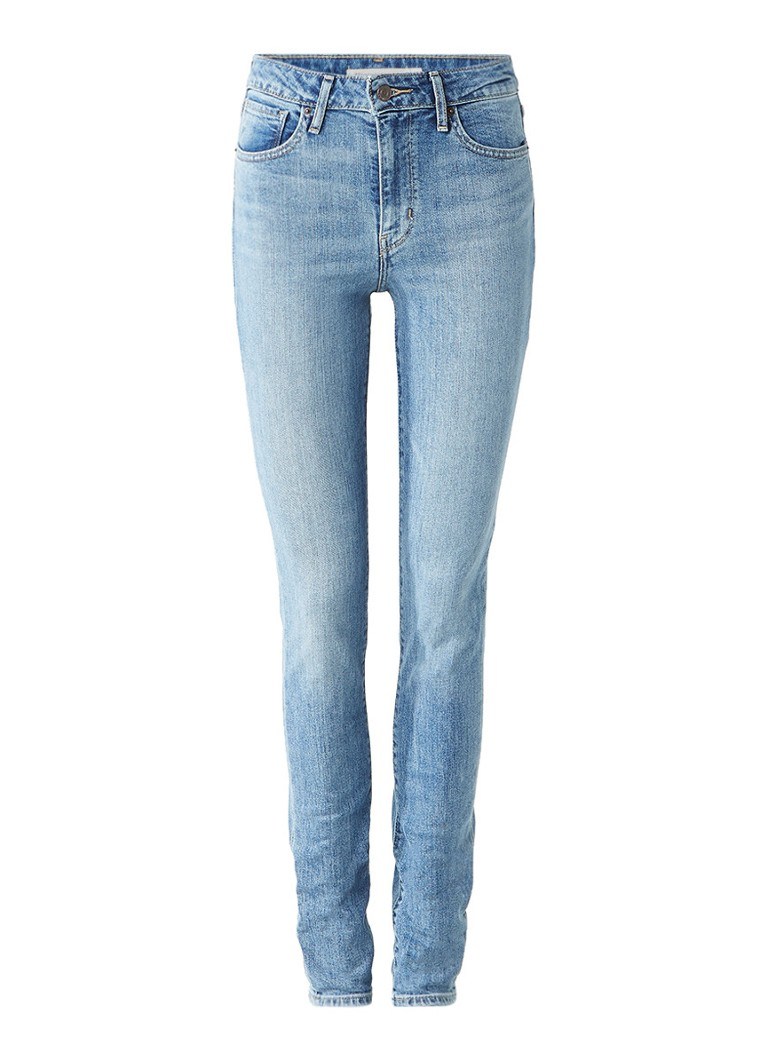 Levi's 721 high rise skinny jeans met stretch