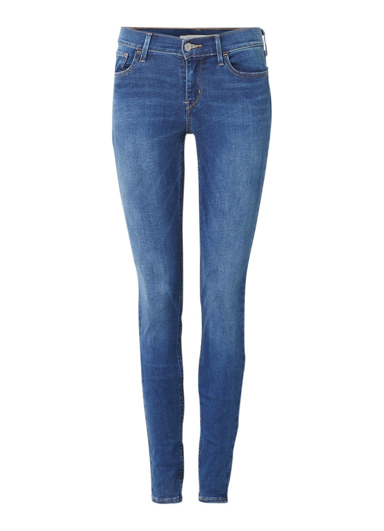 Levi's 710 mid rise super skinny jeans Darling Blue