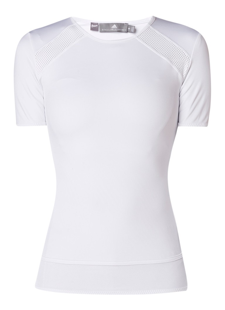 adidas Performance Essentials trainings T-shirt met detail van mesh