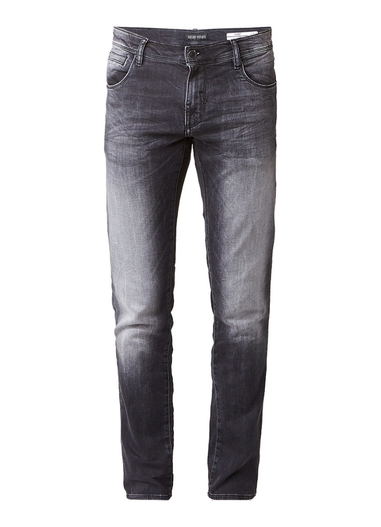 Antony Morato Barret jog skinny fit jeans met faded look