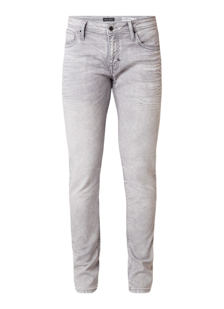 Antony Morato Ozzy low rise skinny jeans met medium wassing