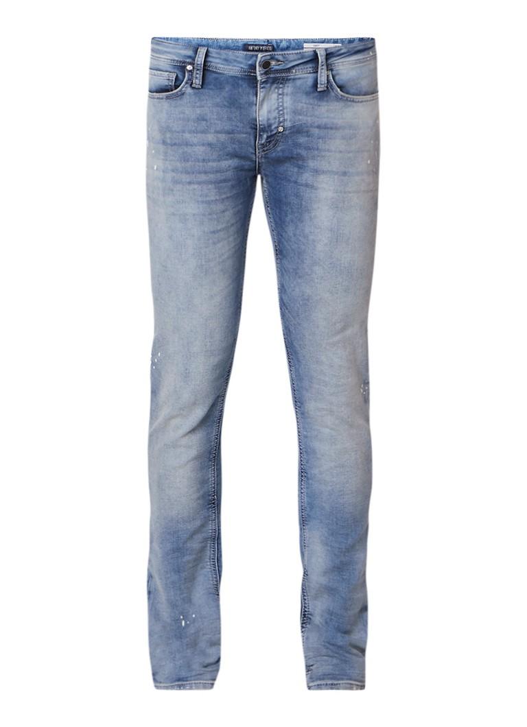 Antony Morato Ozzy skinny fit jeans met verfaccenten