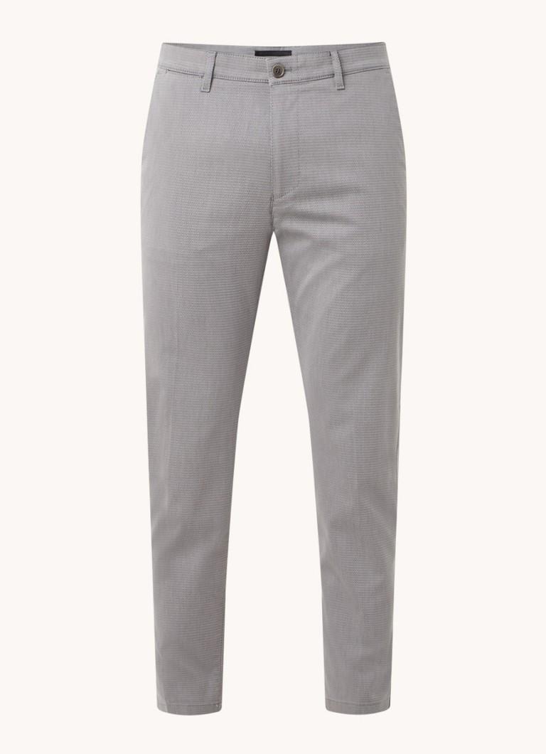 DRYKORN Mad slim fit pantalon met print