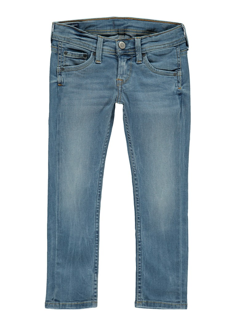 Pepe Jeans Cashed slim fit jeans met medium wassing