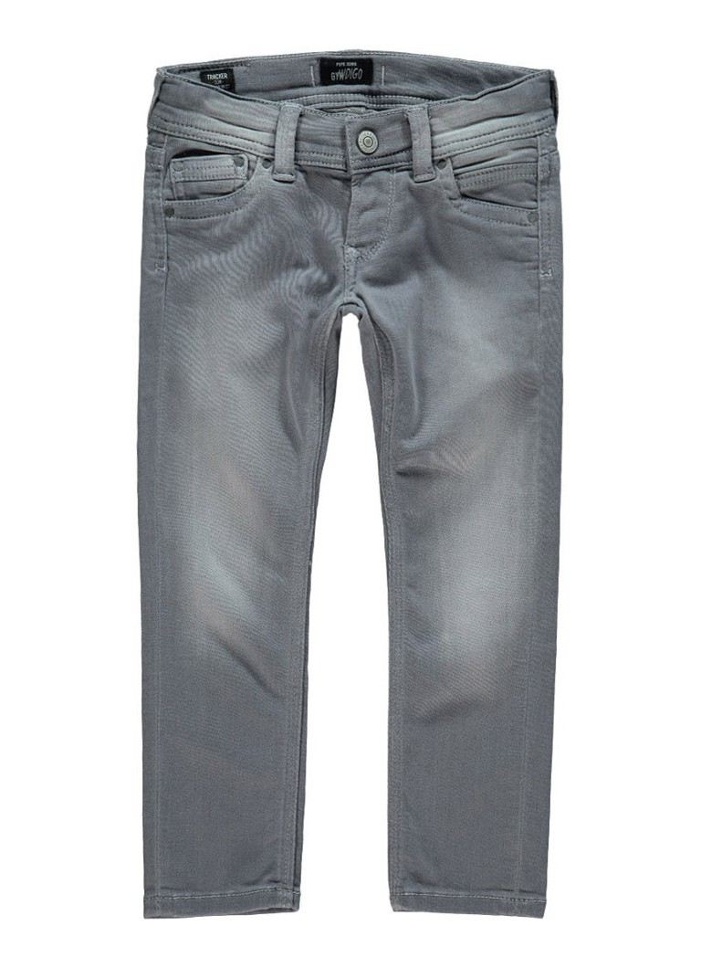 Pepe Jeans Tracker slim fit joggjeans met medium wassing