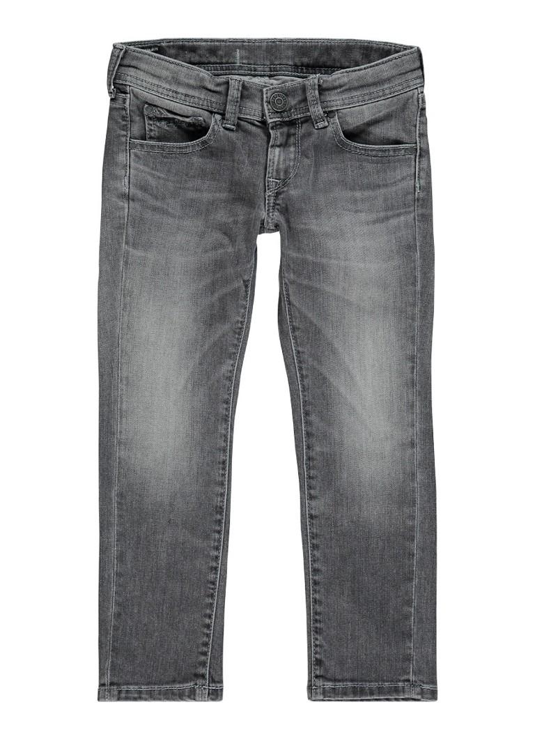 Pepe Jeans Becket slim fit jeans met faded look