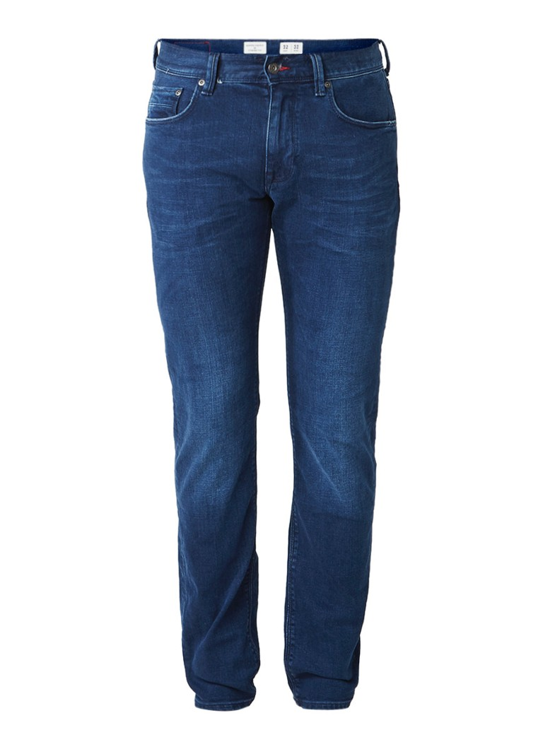 Tommy Hilfiger Denton straight fit stretch jeans arcola blue