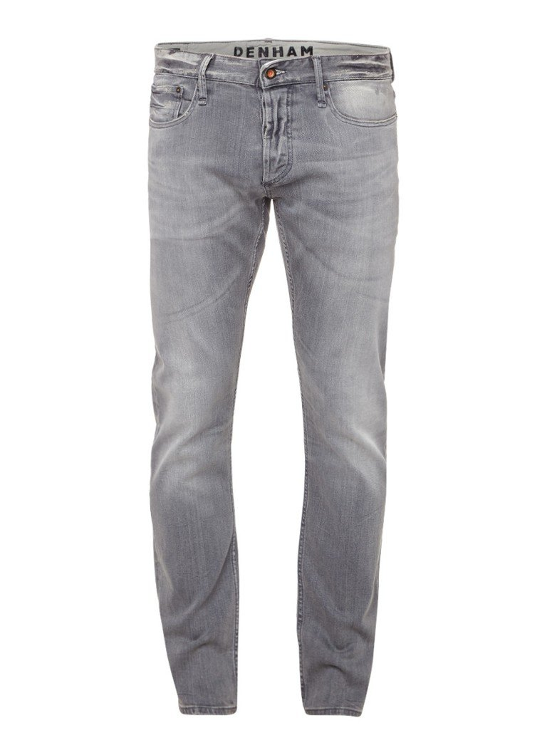 Denham Razor mid rise slim fit jeans met stretch