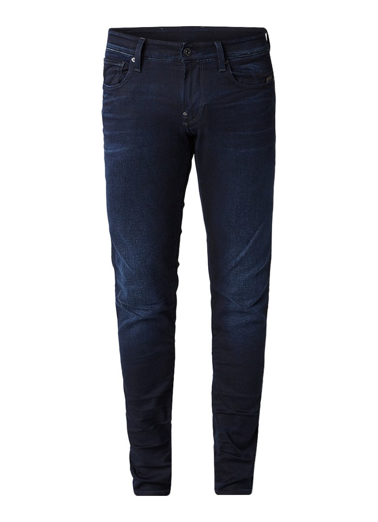 G-Star RAW Revend super slim fit jeans met donkere wassing