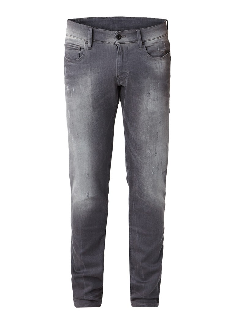 G-Star RAW Revend super slim fit jeans met destroyed details
