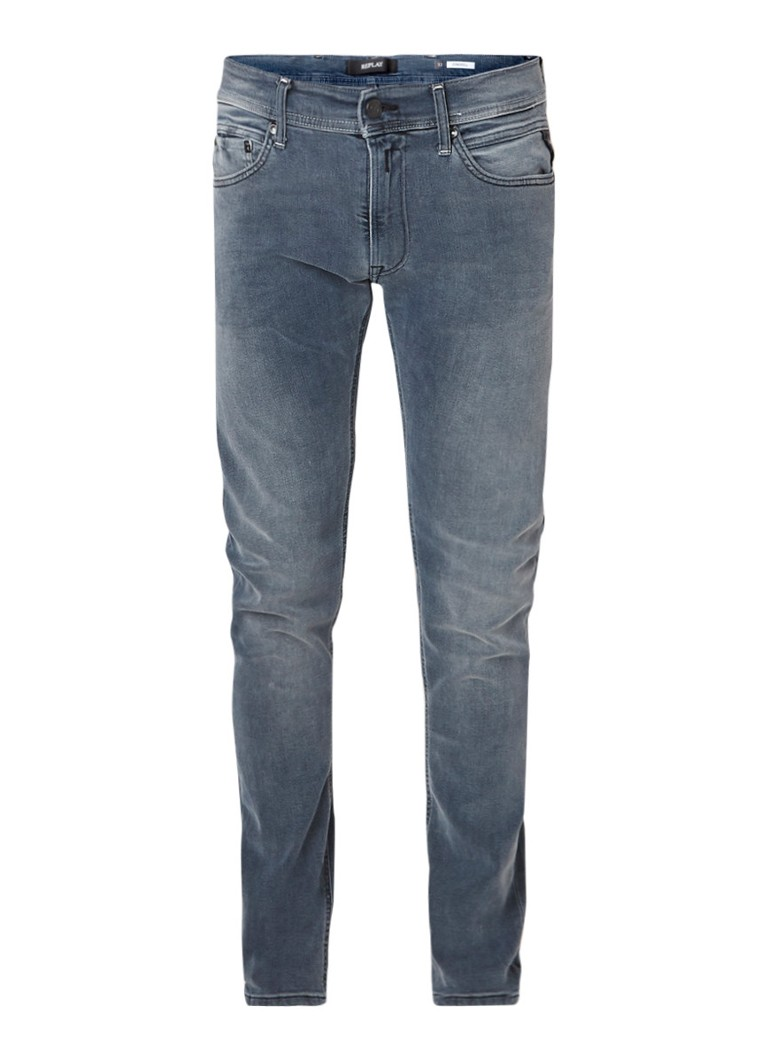 Image of Replay Jondrill skinny fit jeans met stretch