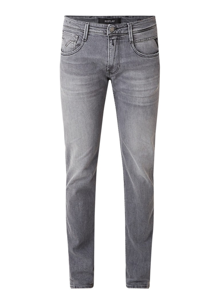Image of Replay Anbass Laserblast slim fit jeans