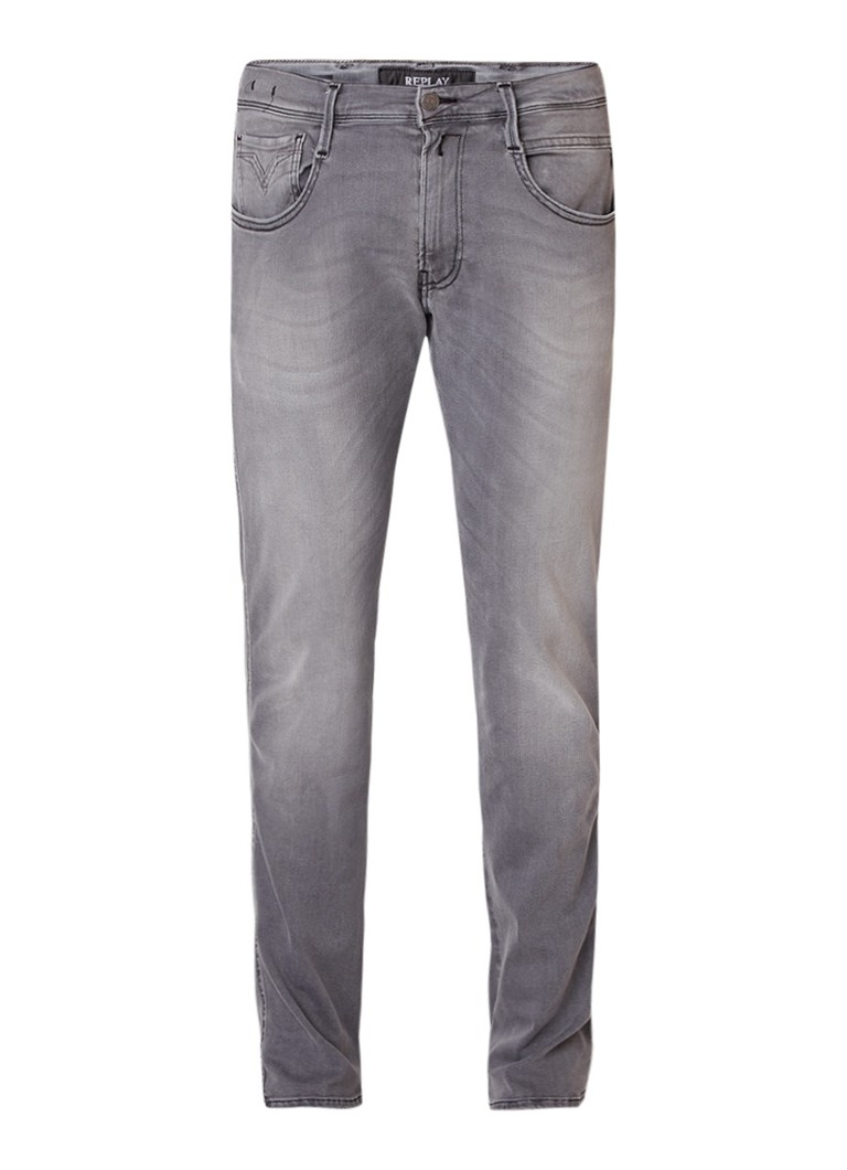 Replay Anbass Hyperflex slim fit jeans met stretch
