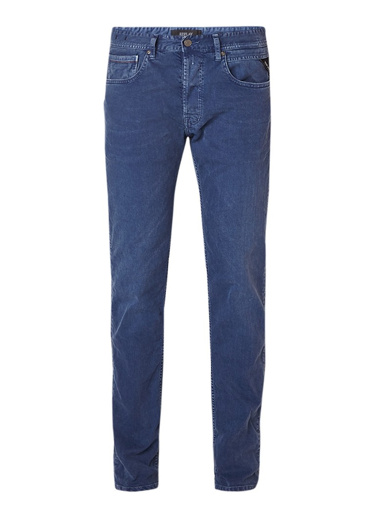 Replay Grover slim fit jeans met stretch