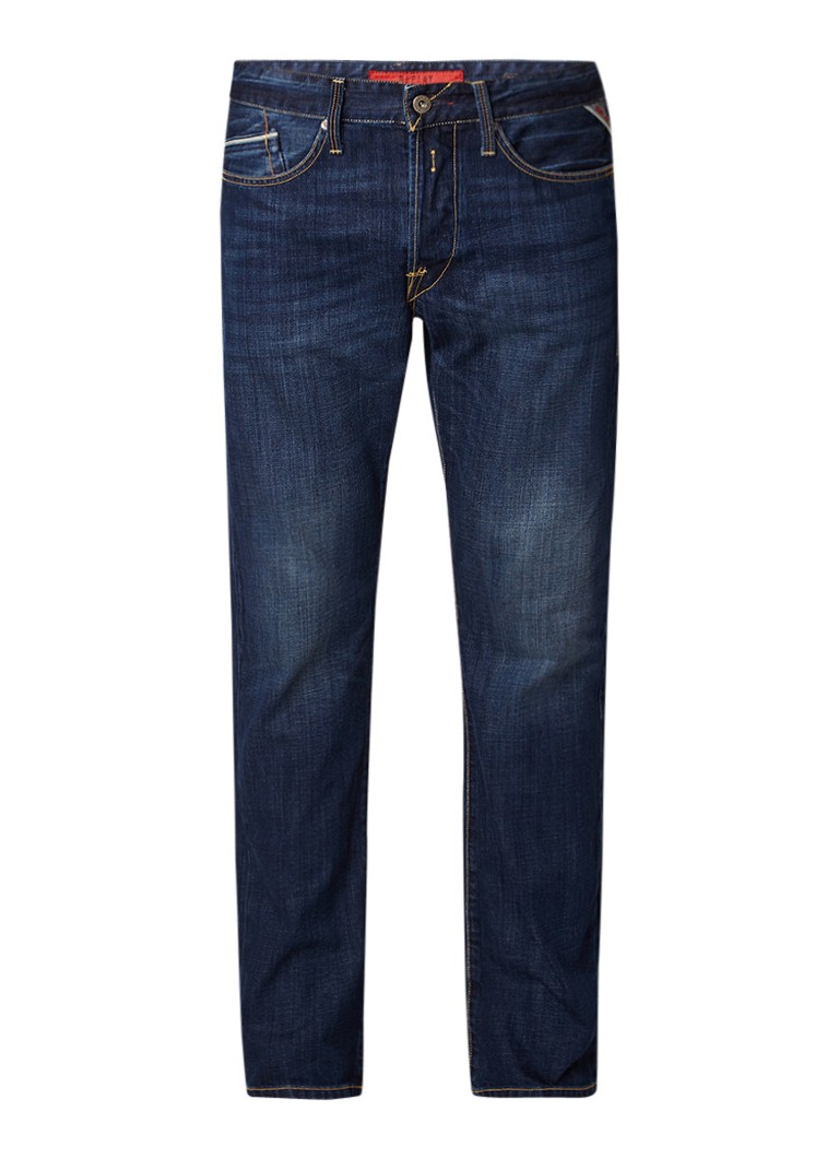 Replay Waitom regular slim fit jeans in Dark Wash