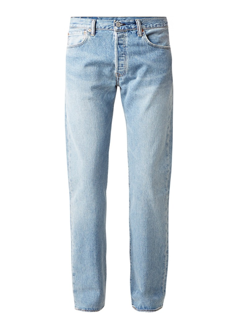 Levi's 501 2-way stretch straight fit jeans