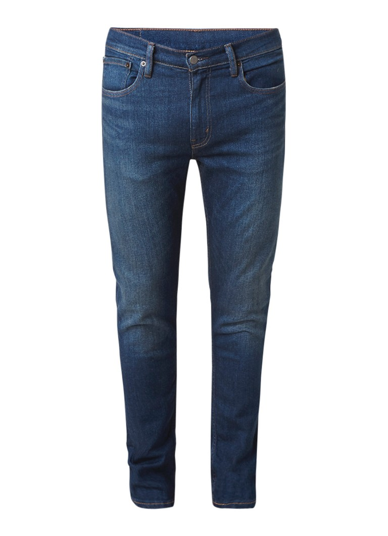 Levi's 512 Roth Blue slim tapered fiit jeans met stretch