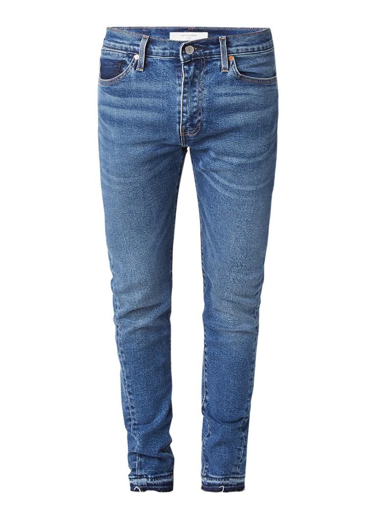 Levi's 510 skinny fit jeans met destroyed look