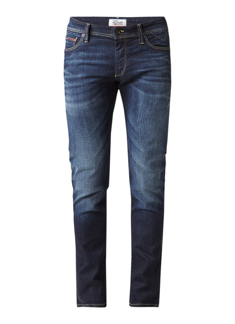 Tommy Hilfiger Simon skinny fit jeans in donkere wassing