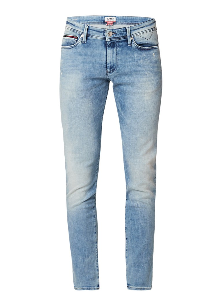 Tommy Hilfiger Simon skinny fit jeans met lichte wassing