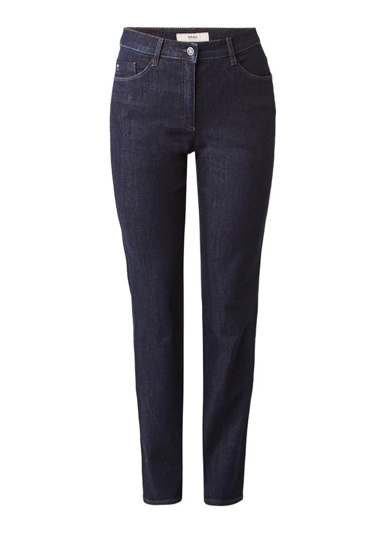 Brax Carola high rise straight fit jeans met stretch